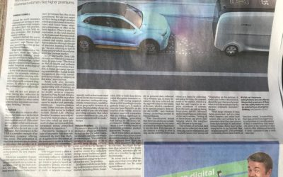 Blink Coverage in Irish Times Article Ref: Future of Insurance
