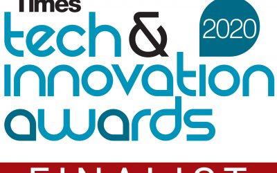 Blink Parametric is a Tech & Innovation Awards Finalist!